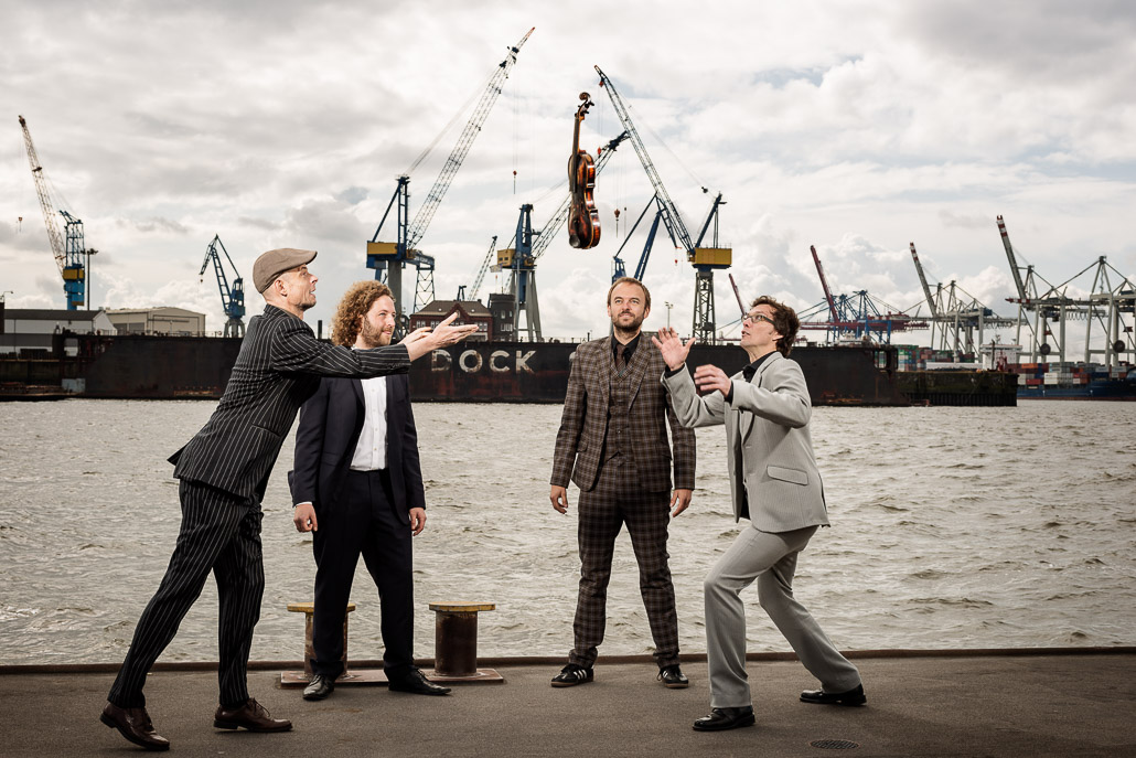 Jazzquartett, Christoph König, Ingmar Süberkrüb, Jörg Brinkmann, Ulli Bartel